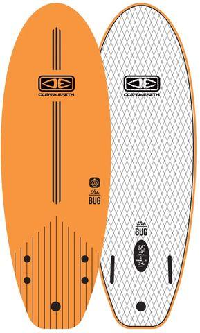 "O&e Bug Bodyboard - 66"""