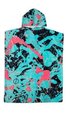 Leus Poncho Towel Splatter