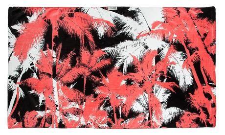 Leus Print Towel  Palm Palm