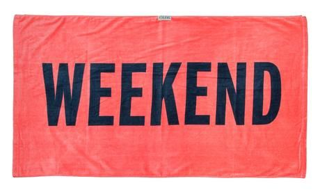 Leus Print Towel  Weekend