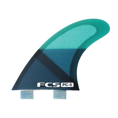 Fcs Pc-5 Blue Smoke Tri Fins