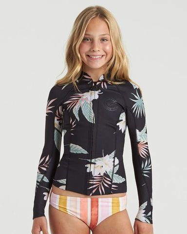Billabong Teen Peeky 1 mm Long Sleeve Jacket Tropical