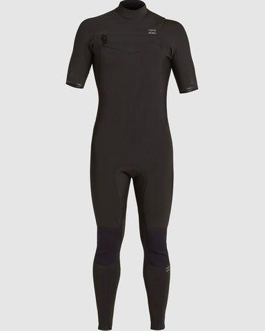 Billabong Revolution Chest Zip Short Sleeve2/2 - Black
