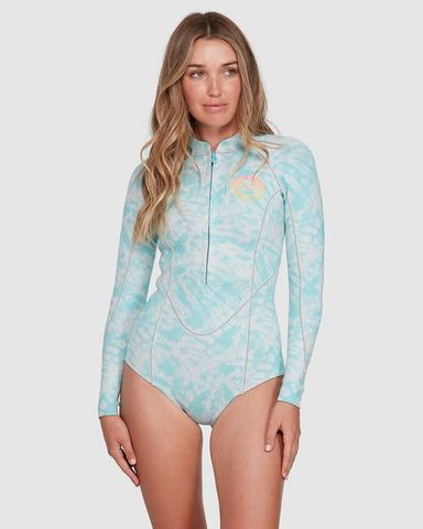 Billabong Salty Days Long Sleeve Spring Suit Blue