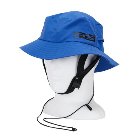 FCS Essential Surf Bucket Hat Blue
