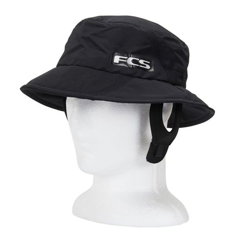 FCS Essential Surf Bucket Hat Black