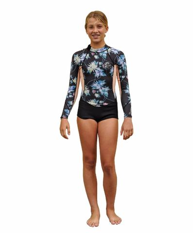 Girls Bahia Long Sleeve Spring Suit 2mm