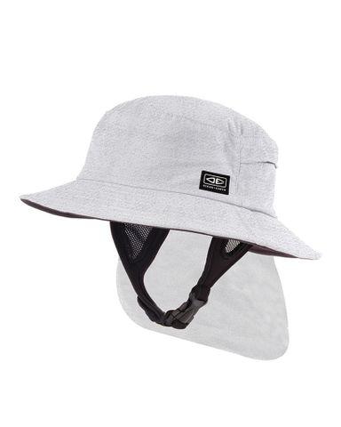 Ocean And Earth Indo Stiff Peak Surf Hat - White