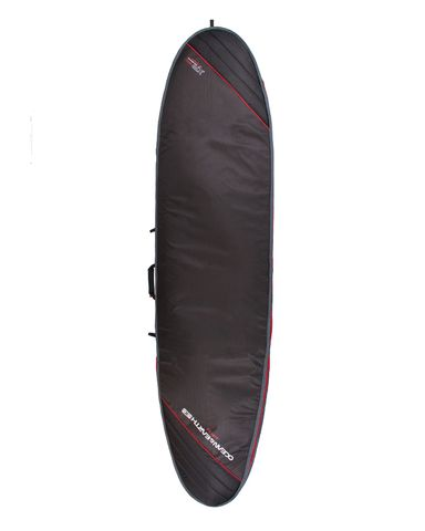 O&E Aircon Longboard Cover - Black/Red