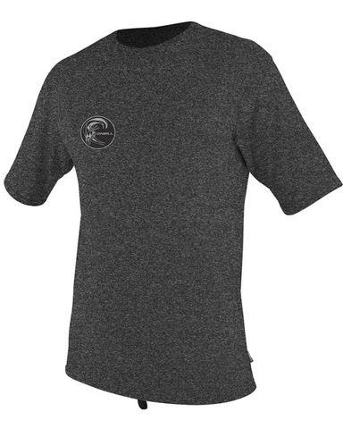 O'Neil 24-7 Hybrid Short Sleeve Surf Rashie Tee - Black