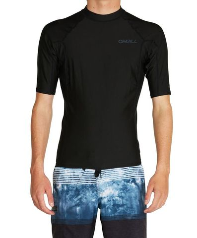 O'Neill Thermo Short Sleeve Rash Vest - Black
