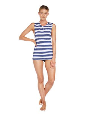 O'Neill Cruise Rash Tank Top - Sailor Stripe