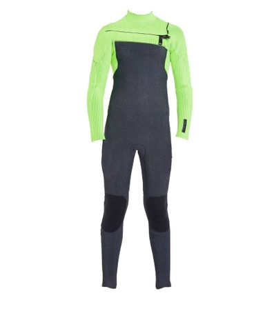 O'Neill Hyperfreak 4/3 Youth Chest Zip Wetsuit - Acid Wash