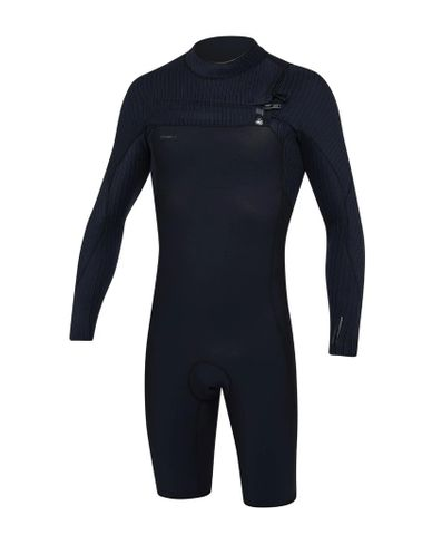 O'neill Hyperfreak Long Sleeve Springsuit Chest Zip 2mm Wetsuit - Black