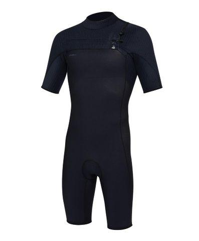 O'neill Hyperfreak Springsuit Chest Zip 2mm Wetsuit - Black