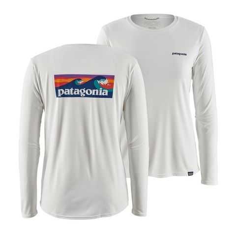 Patagonia Women's Long Sleeve Capilene Cool Daily Uvt - White