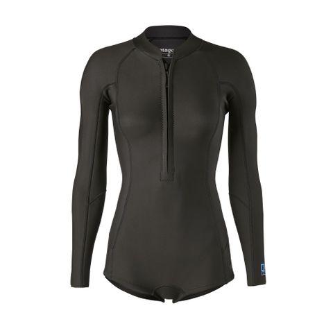 Patagonia Women's R1 Lite Yulex Long Sleeve Spring Suit - Black