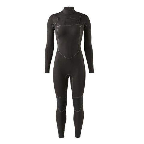 Patagonia Womens R2 Yulex Fz Full Suit - Black