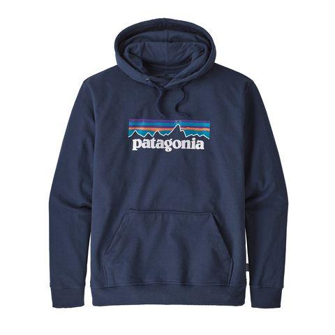 Patagonia Men P-6 Uprisal Logo Hoody- Navy