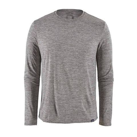 Patagonia Men's Long Sleeve Capilene Cool Daily Shirt - Feather Grey