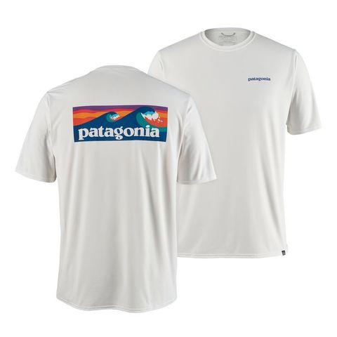 Patagonia Men's Short Sleeve Capilene Cool Daily Uvt - White