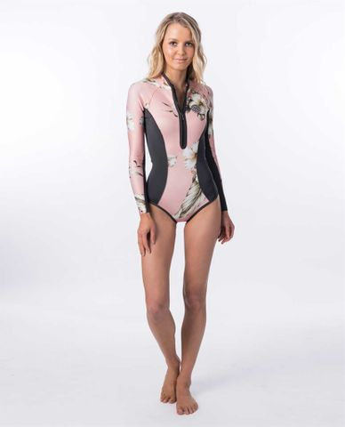 Rip Curl G Bomb long sleeve Cheeky Sprint Suit - Pink