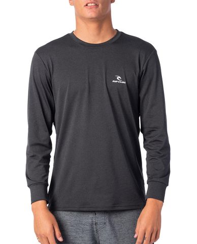 Rip Curl Search Series Long Sleeve Uvt - Black