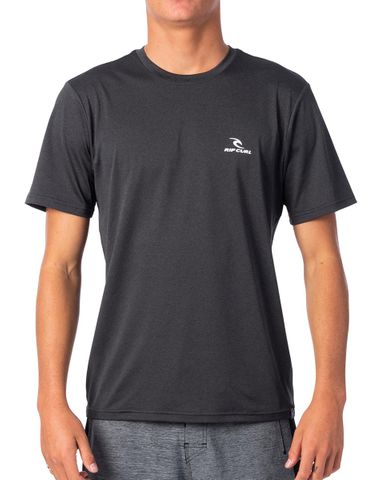 Rip Curl Search Series Short Sleeve Uvt - Black