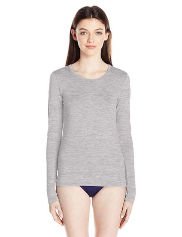 Rip Curl Women's Search Long Sleeve Uv Tee  Grey