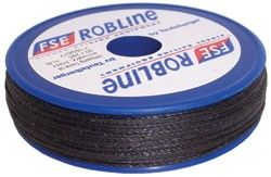 WAXED WHIPPING TWINE SIZE4, .8MM BLACK