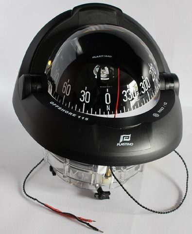 OFFSHORE 115 COMPASS - BLACK