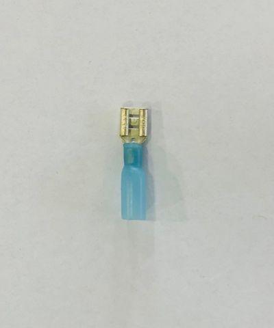 TERMINAL - WATERPROOF FEM.(BLUE)6.3MM