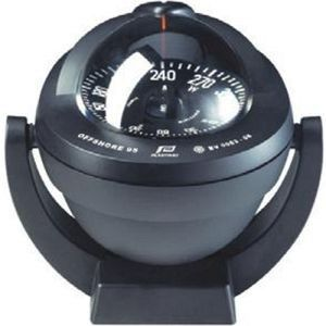 OFFSHORE 95 COMPASS - BLACK, BRACKET