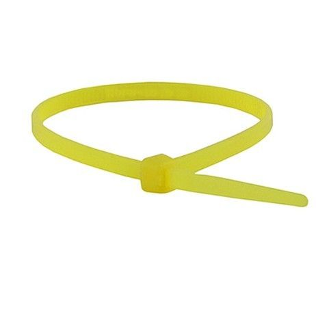 CABLE TIES 200MM X 4.8MM  YELLOW