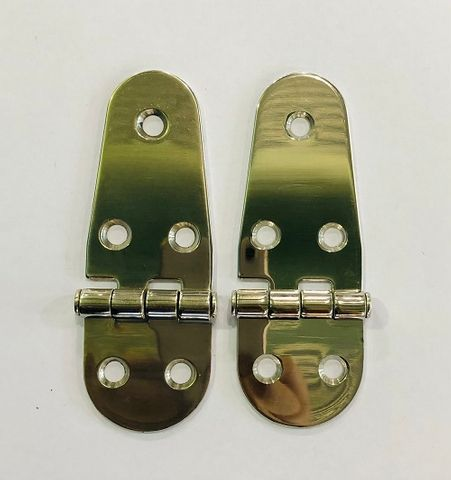 HINGE ROUNDED PRESSED S/S