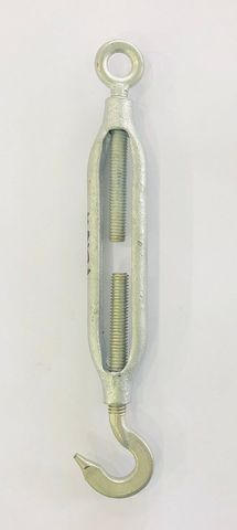 10MM GAL. TURNBUCKLE - HOOK/EYE