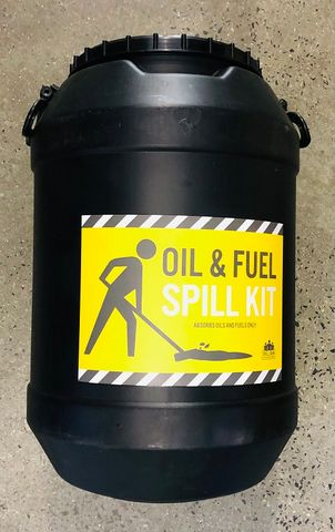 SPILL KIT - OIL AND FUEL 60L DRUM