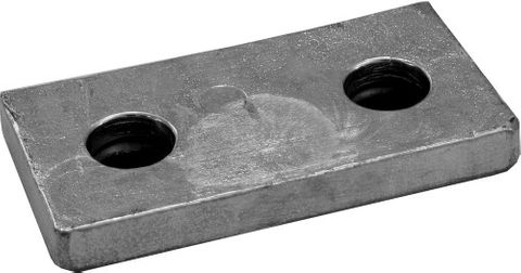 ANODE RECT. BOLT ON 2.6KG