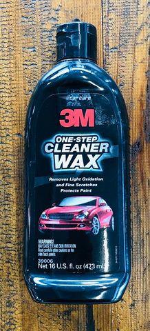3M 1 STEP CAR CLEANER WAX 473ML