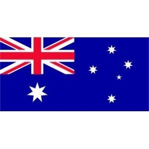 AUSTRALIAN 2FT. BLUE ENSIGN FLAG