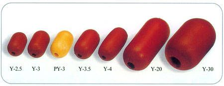 Y20 SYNTHETIC RUBBER BROWN FLOATS