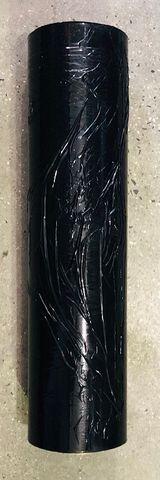 RHINO WRAP,500MM X 375MTRS  25UM BLACK