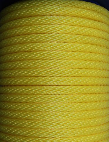 DONAGHYS 12MM PE MONO CODEND ROPE YELLOW