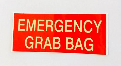 STICKER EMERGENCY GRAB BAG