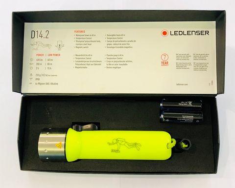 LED LENSER D14.2 DIVE TORCH