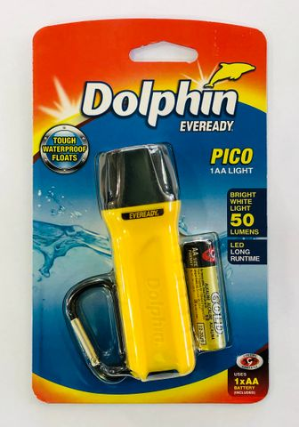 DOLPHIN TORCH 'PICO' (AA BATTERY)