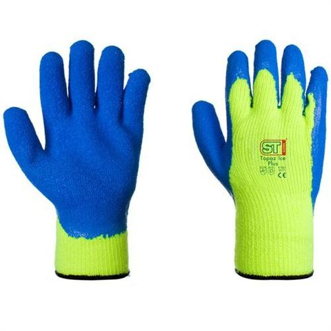 COLD FIGHTER FREEZER GLOVES YELL/BLUE
