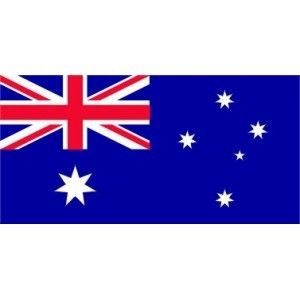 "AUSTRALIAN 36"" X 18"" BLUE ENSIGN FLAG"