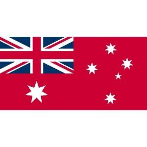 "AUSTRALIAN 36"" X 18"" RED ENSIGN FLAG"