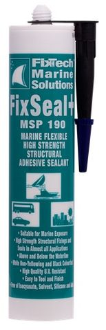 FIX 190 FWT MSP190 FAST ADHESIVE BLACK